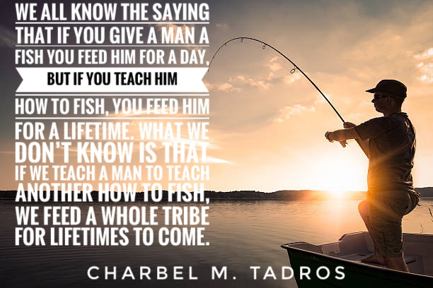 Teaching to Teach Fishing