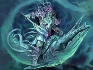 Poseidon Neptune Greek God Art 10