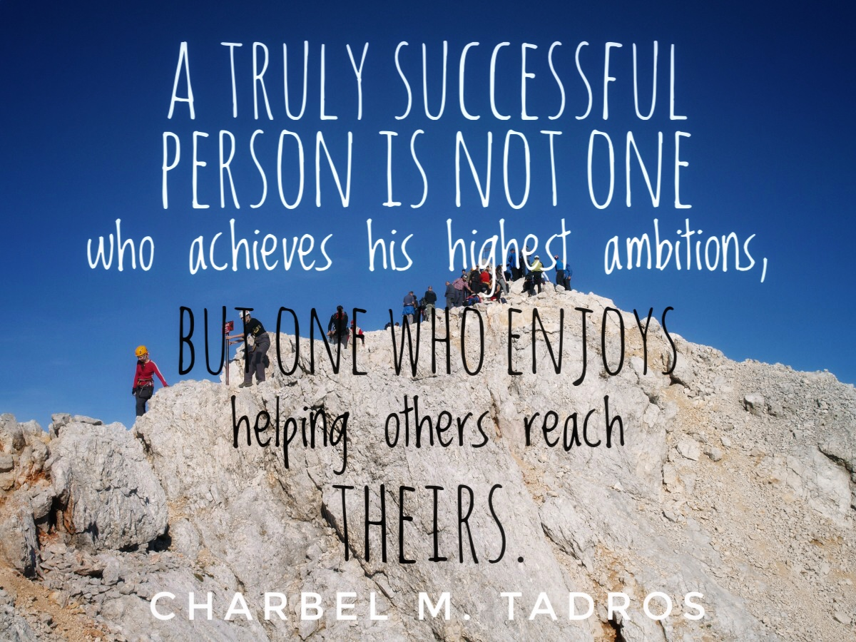 Succeeding Through Others