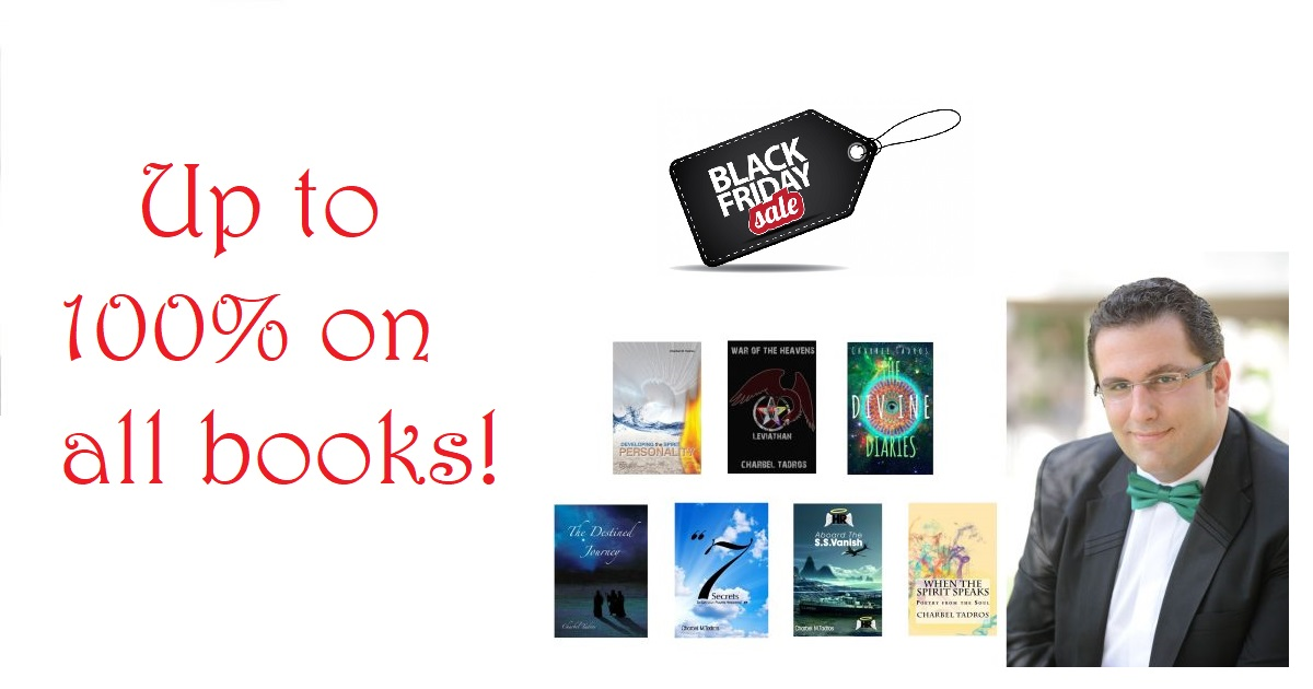 black friday deals on charbel tadros books