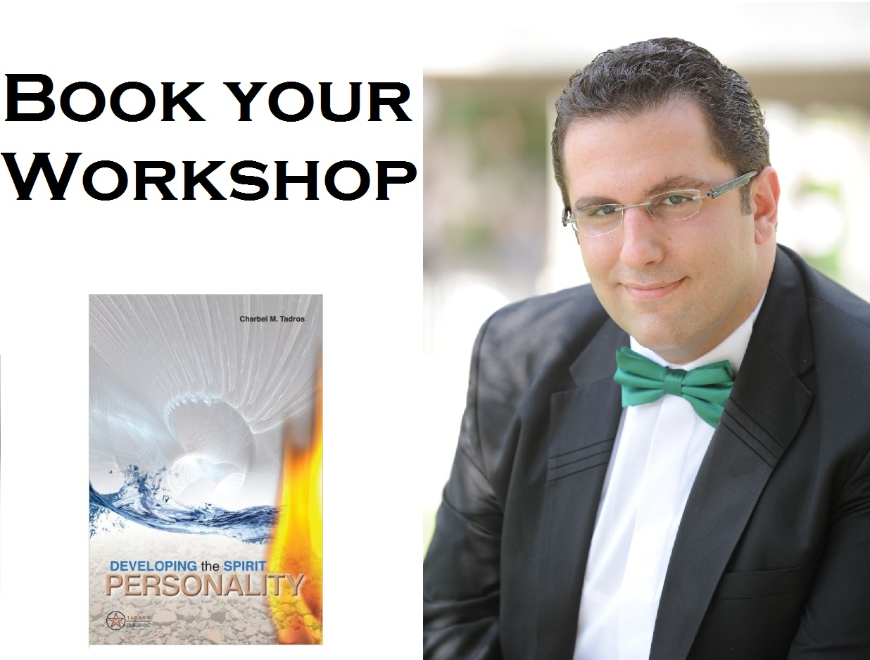 book a workshop with charbel tadros