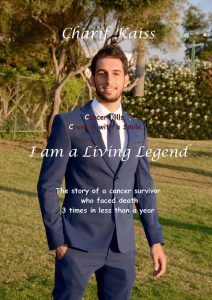 book cover of i am a living legend by Charif kaiss