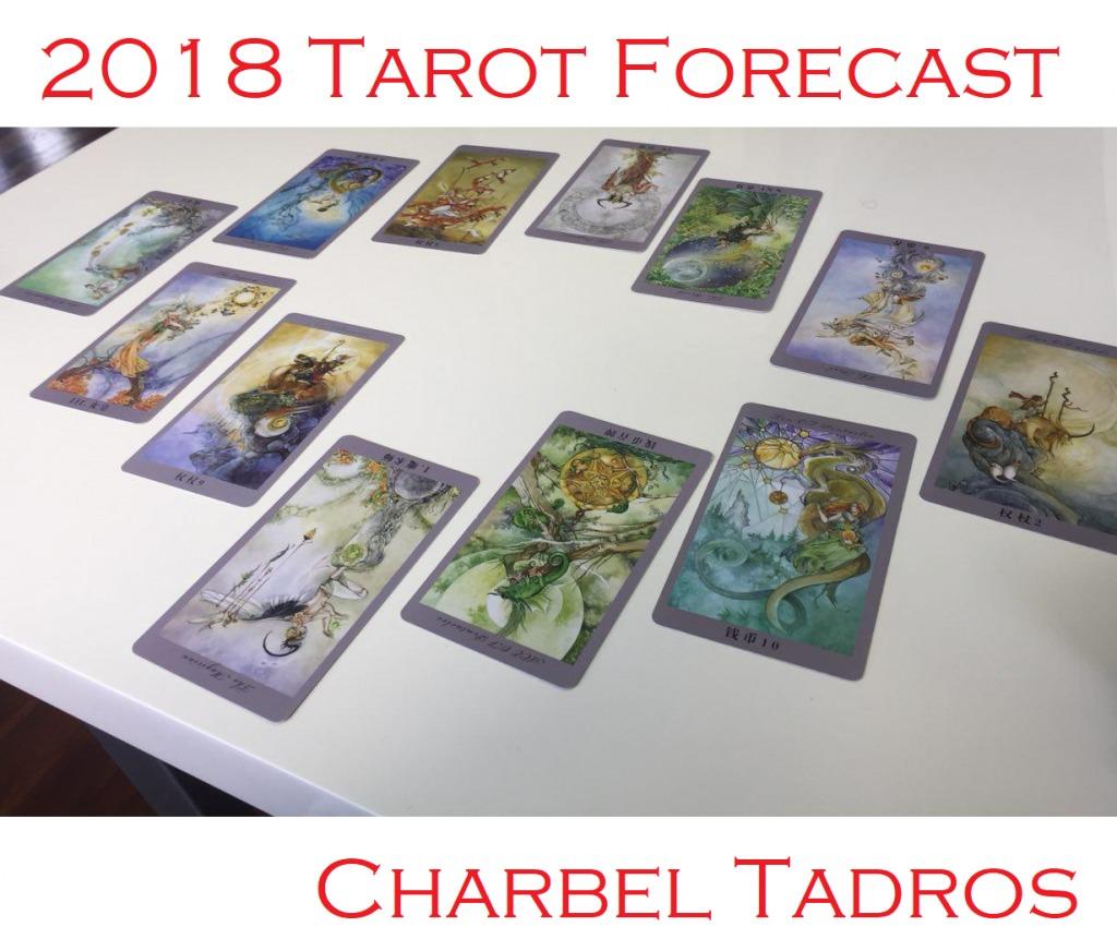 2018 Tarot Forecast by Charbel Tadros