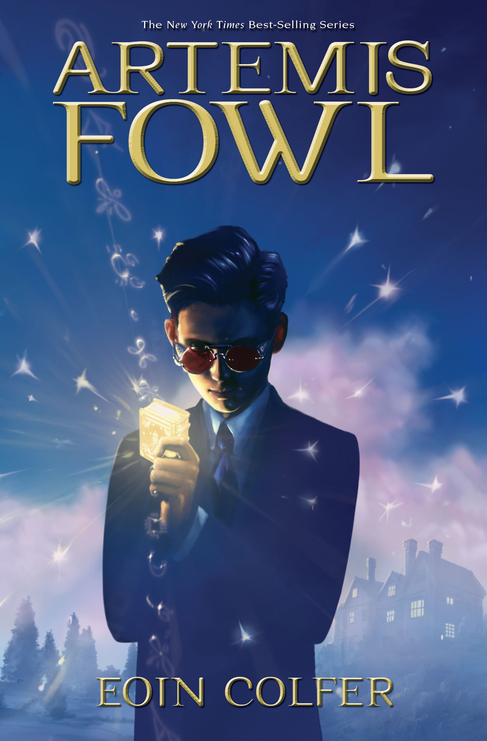 Book Review: Artemis Fowl series by Eoin Colfer