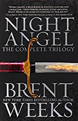 Book Review: Night Angel trilogy by Brent Weeks