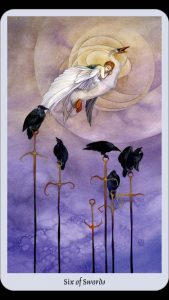 six of swords tarot
