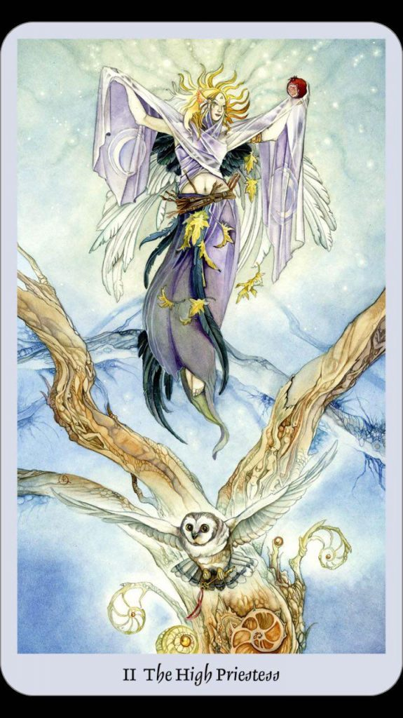 the high priestess tarot
