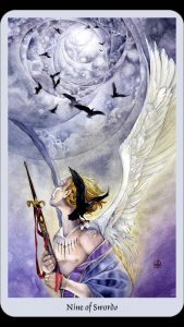 nine of swords tarot