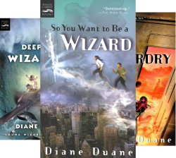 young wizards by diane duane